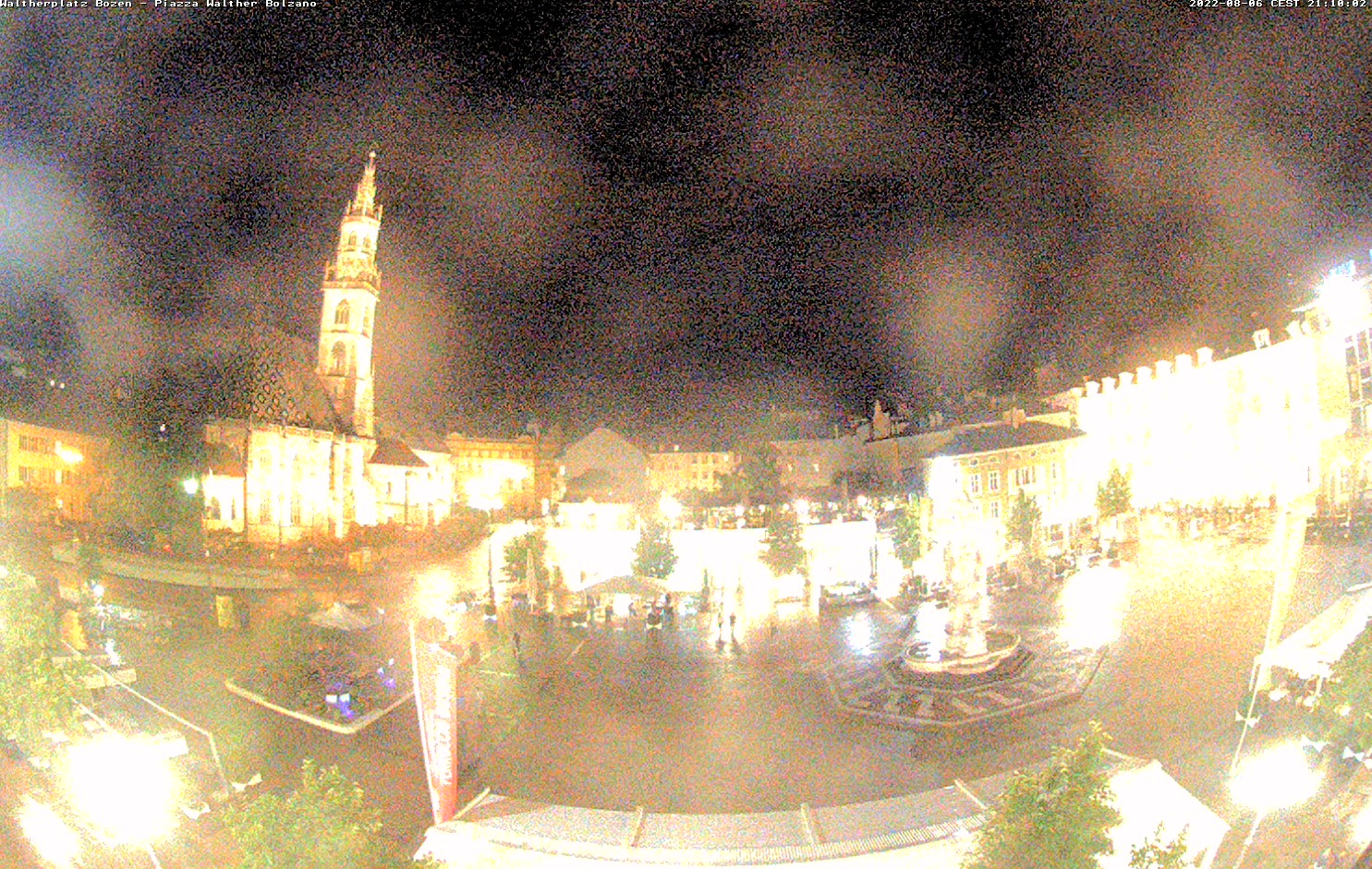 Webcam in Bozen - Waltherplatz